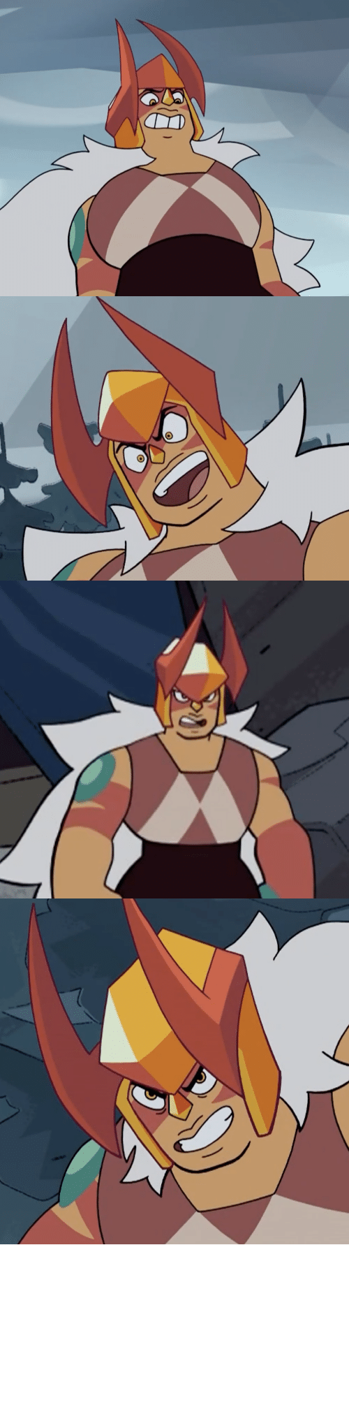 so sick: terrorbeaks: Ok but Jasper's helmet with the horns looks so sick.    Only good thing today apart from Doom Eternal