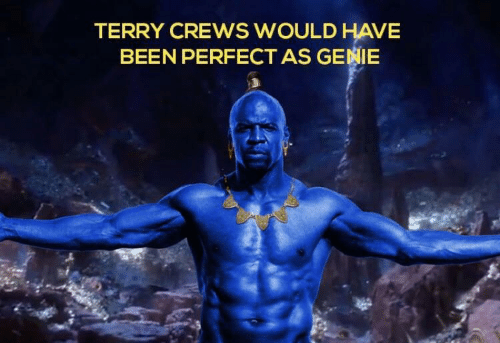 Terry Crews: TERRY CREWS WOULD HAVE  BEEN PERFECT AS GENIE