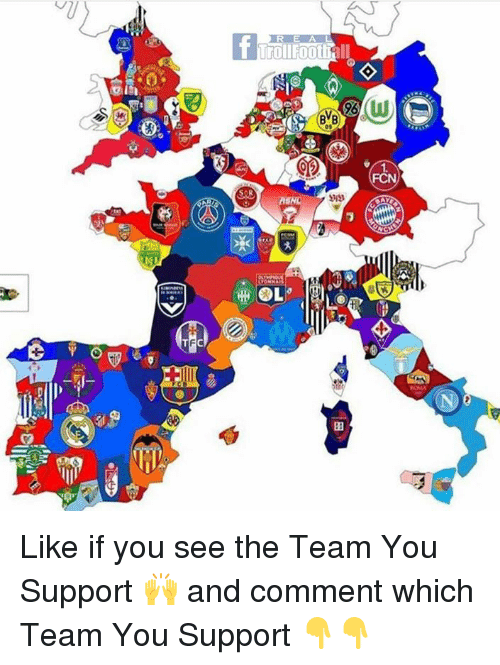 Memes, Troll, and 🤖: TFC  Troll  all  BVB Like if you see the Team You Support 🙌 and comment which Team You Support 👇👇