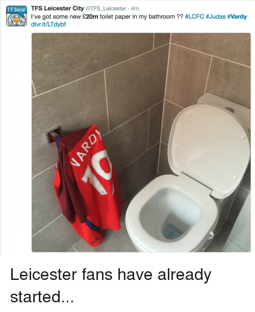 Bathroom Design Leicester Bathroom Fitters Leicester: 204 Funny Leicester City Memes Of 2016 On SIZZLE