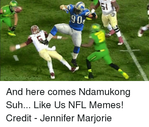 The Raiders Can And Should Sign Ndamukong Suh: Funny NFL Memes Of 2016 On SIZZLE