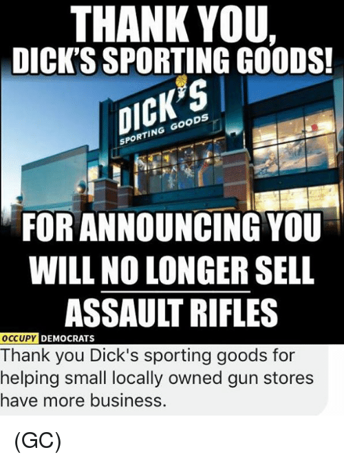 adams selling to dicks sporting goods