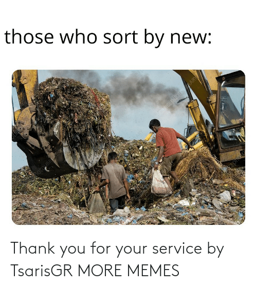 service: Thank you for your service by TsarisGR MORE MEMES