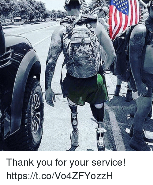 Memes, Thank You, and 🤖: Thank you for your service! https://t.co/Vo4ZFYozzH