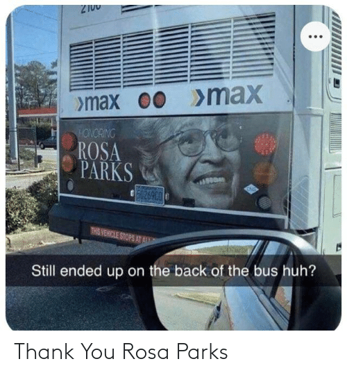 Rosa: Thank You Rosa Parks
