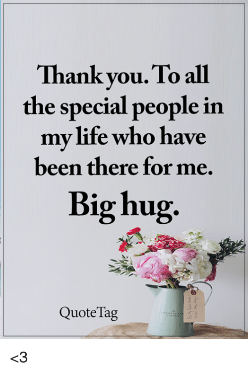 special people in life