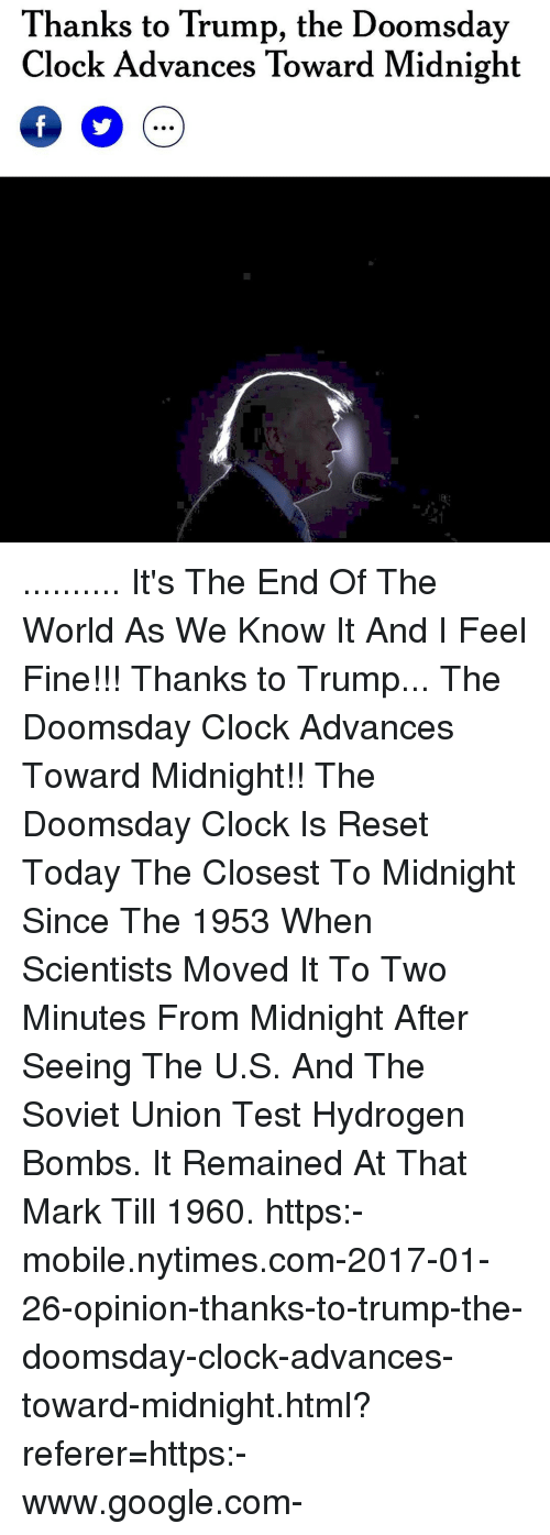Funny Its the End of the World as We Know It Memes of 2017 ...