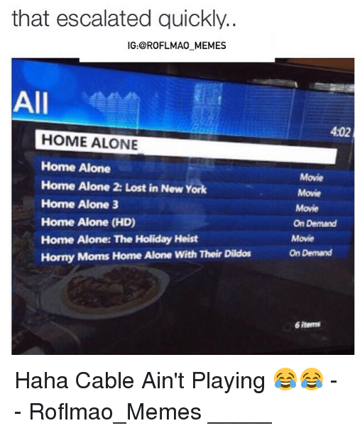 Home Alone And Horny 2