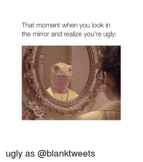 This Mirror Could Look Ugly And Old Fashioned But In This: 25+ Best Memes About Girl Memes