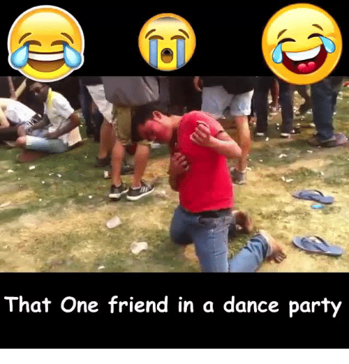 Dancing, Friends, and Nepali: That One friend in a dance party