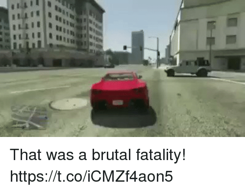 fatality: That was a brutal fatality! https://t.co/iCMZf4aon5