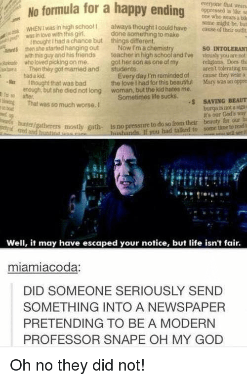snape meme death does not end a relationship