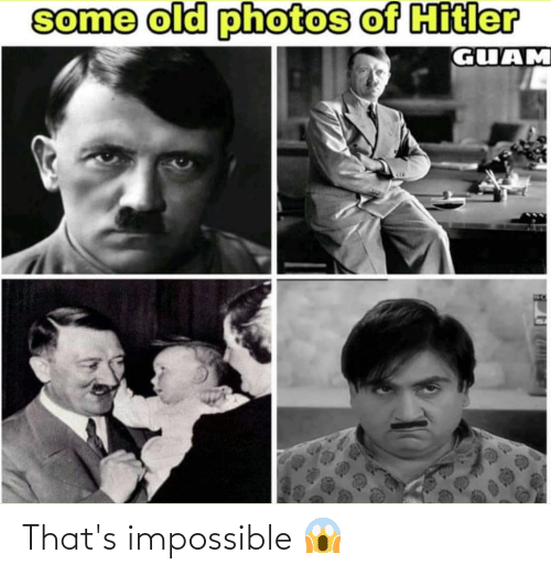 Thats Impossible: That's impossible 😱
