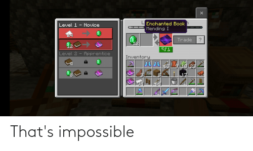 Thats Impossible: That's impossible