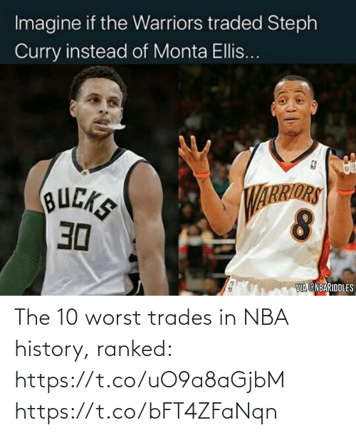 NBA: The 10 worst trades in NBA history, ranked: https://t.co/uO9a8aGjbM https://t.co/bFT4ZFaNqn