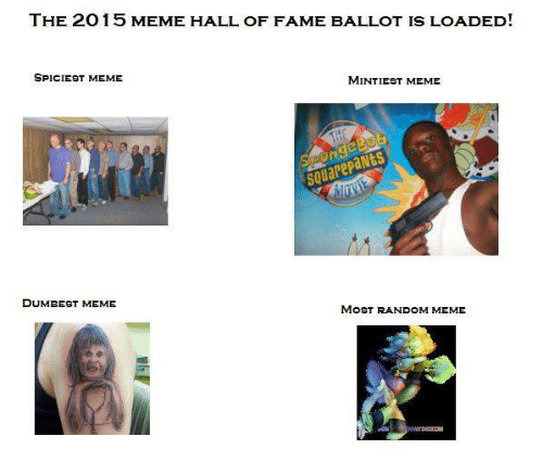 the 2o 15 meme hall of fame ballot is loaded 1097903 the 2o 15 meme hall of fame ballot is loaded! spiciest meme