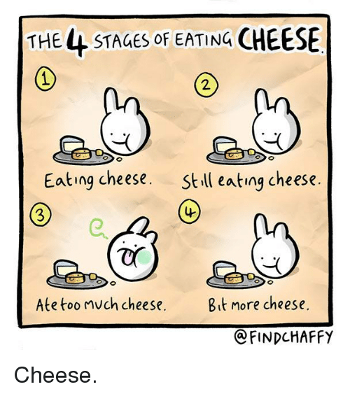 too much cheese