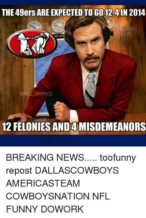 25 best memes about nfl funny nfl funny memes san francisco 49ers funny and memes the 49ers are expected togo 12 voltagebd Image collections