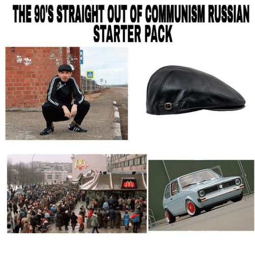 how to look russian starter pack