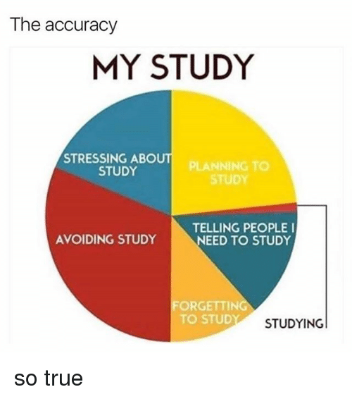 Black Twitter and So True: The accuracy  MY STUDY  STRESSING ABOUT  PLANNING TO  STUDY  STUDY  TELLING PEOPLE I  AVOIDING STUDY  NEED TO STUDY  FORGETTING  TO STUDY  STUDYING so true