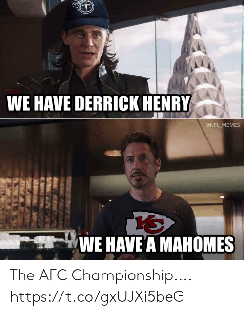 Championship: The AFC Championship.... https://t.co/gxUJXi5beG