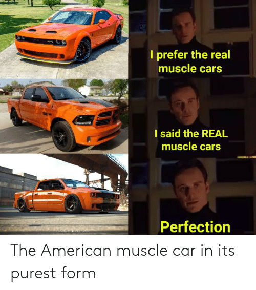 muscle: The American muscle car in its purest form