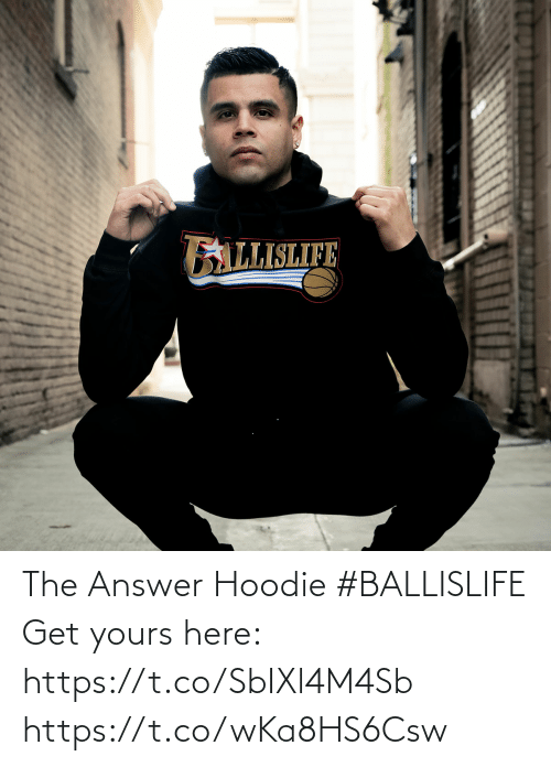 hoodie: The Answer Hoodie #BALLISLIFE   Get yours here: https://t.co/SbIXl4M4Sb https://t.co/wKa8HS6Csw