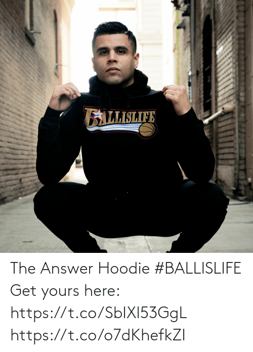 hoodie: The Answer Hoodie #BALLISLIFE   Get yours here: https://t.co/SbIXl53GgL https://t.co/o7dKhefkZI