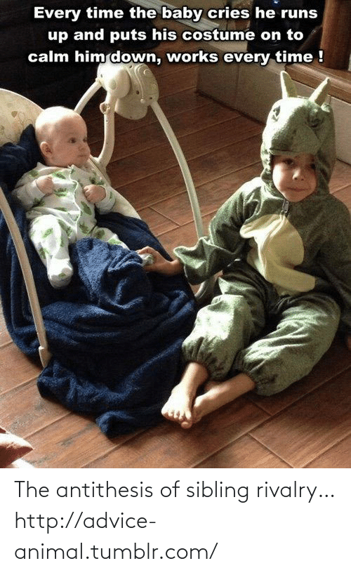 Sibling Rivalry: The antithesis of sibling rivalry…http://advice-animal.tumblr.com/