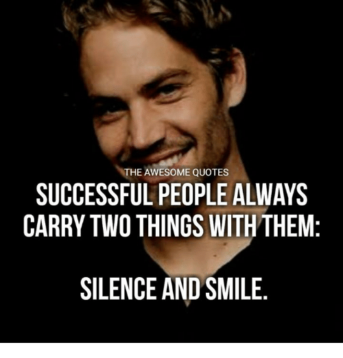 Quotes About People Who Notice: The AWESOME QUOTES SUCCESSFUL PEOPLE ALWAYS CARRY TWO