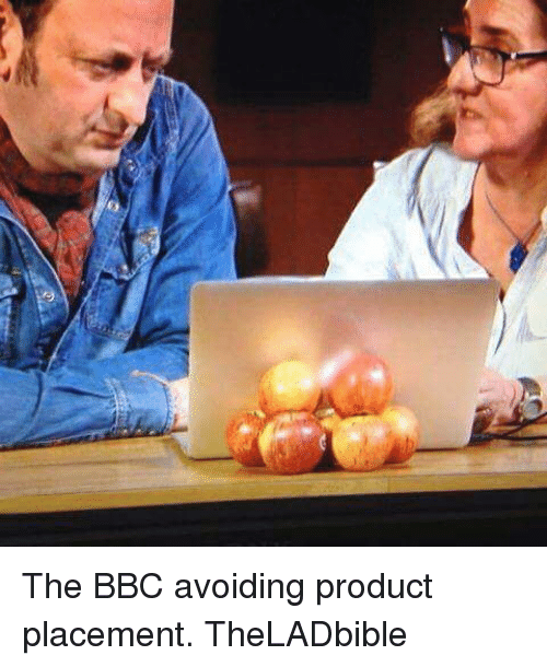 product placement: The BBC avoiding product placement. TheLADbible