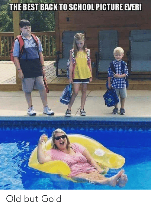 old-but-gold: THE BEST BACK TO SCHOOL PICTURE EVER! Old but Gold