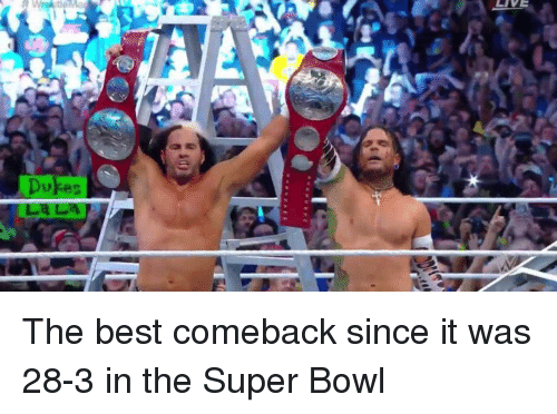 Football, Nfl, and Sports: The best comeback since it was 28-3 in the Super Bowl