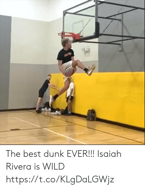 isaiah: The best dunk EVER!!! Isaiah Rivera is WILD https://t.co/KLgDaLGWjz