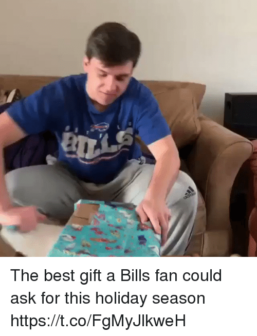 Holiday Season: The best gift a Bills fan could ask for this holiday season https://t.co/FgMyJlkweH