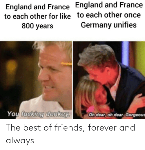 Best Of: The best of friends, forever and always