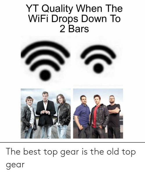 Top Gear: The best top gear is the old top gear