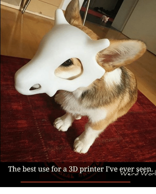 3d printers: The best use for a 3D printer I've ever  Or