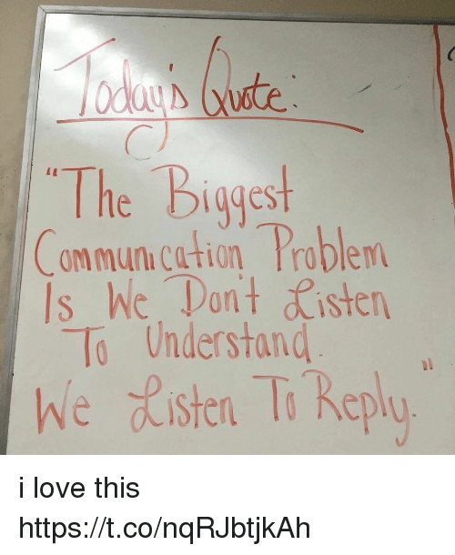 he problem with communication Someone once said, as soon as you hire your first employee, you'll have your first communication issue communication problems are so commonplace in the workplace that they're almost viewed as.