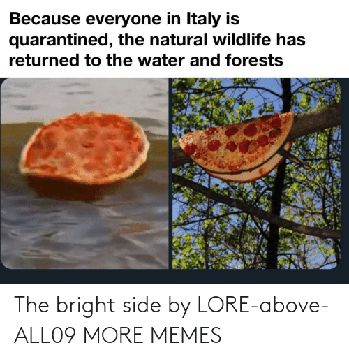 Above: The bright side by LORE-above-ALL09 MORE MEMES
