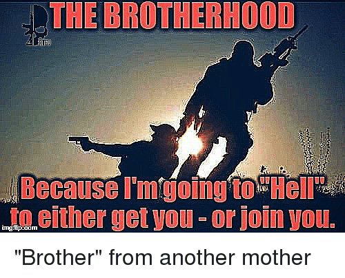 """Brother From Another Mother: THE BROTHERHOOD  either getyou or join Vous  inngfip.co """"Brother"""" from another mother"""