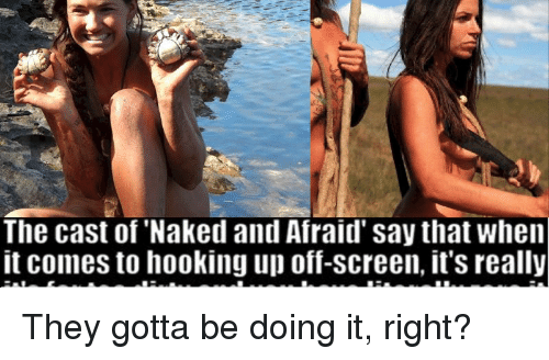 naked and afraid hookup