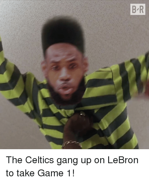 Gang, Celtics, and Game: The Celtics gang up on LeBron to take Game 1!