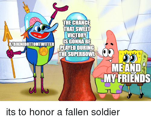 Fallen Soldier: THE CHANCE  THAT SWEFT  VICTORY  ISGONNABE  PLAYED DURING  RIBIKINIBOTTOMTWITTERP  THE SUPERBO  WL  MEAND  MYFRIENDS its to honor a fallen soldier