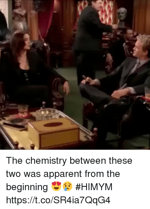 Memes, 🤖, and Himym: The chemistry between these two was apparent from the beginning 😍😢 #HIMYM https://t.co/SR4ia7QqG4