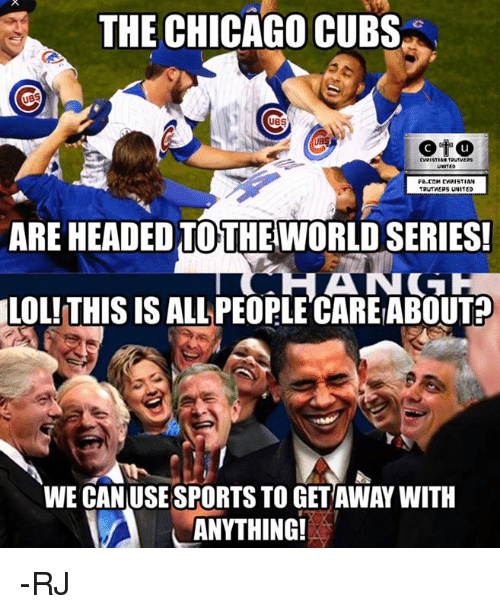 Chicago memes and sports the chicago cubs ubs cvristian trutvers fb