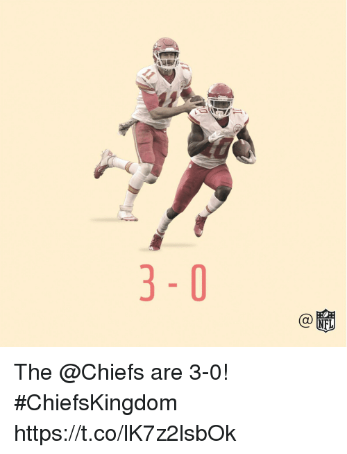 Memes, Chiefs, and 🤖: The @Chiefs are 3-0! #ChiefsKingdom https://t.co/lK7z2lsbOk
