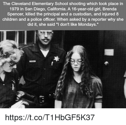 The Cleveland Elementary School Shooting Which Took Place