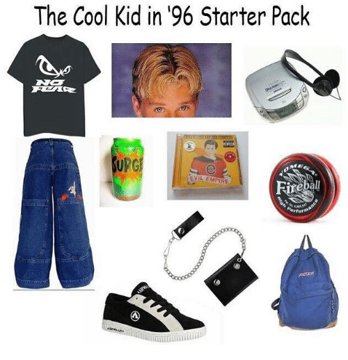 Empire, Starter Packs, and Cool: The Cool Kid in 196 Starter Pack  RG  eVIL EMPIRE  Perfor