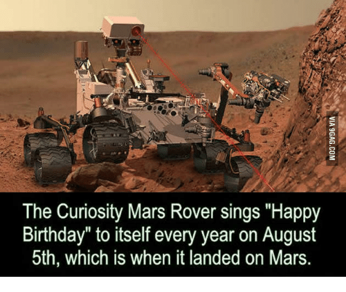 birthday of mars rover - photo #6